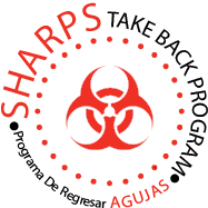 sharps take back icon